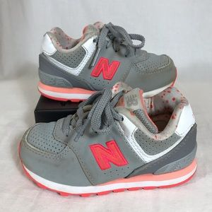 New Balance NB 574  Sneakers Toddler Girls Shoes 7